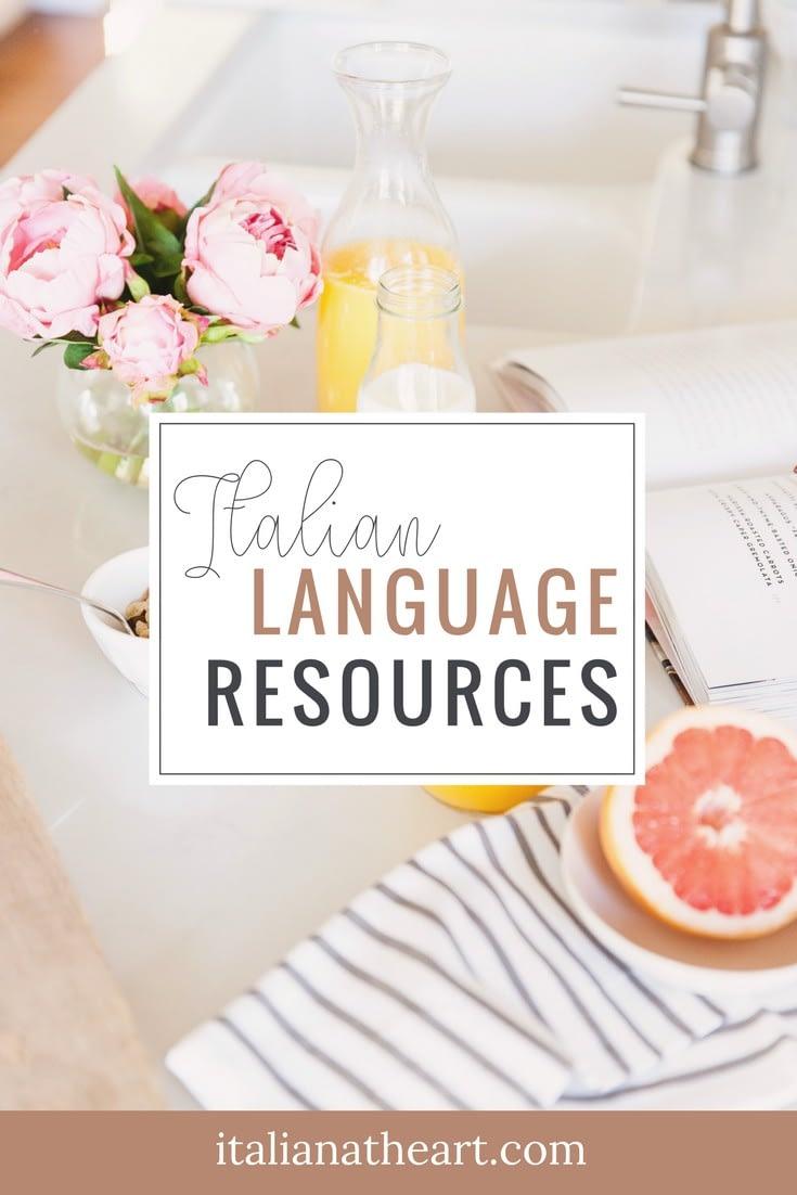 Italian language resources